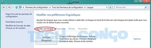 Changer La Langue De Windows