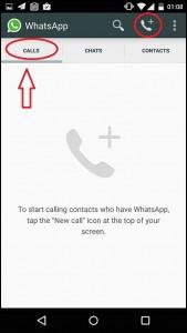 Appels whatsapp