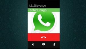Les Appels sur WhatsApp