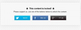 Comment contourner OnePress Social Locker «this content is locked»