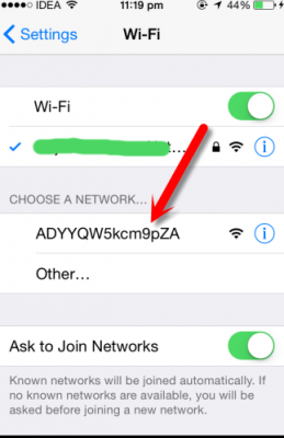 Point d'acces WIFI - Xender