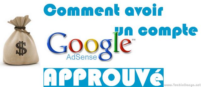 Google adsense approuver