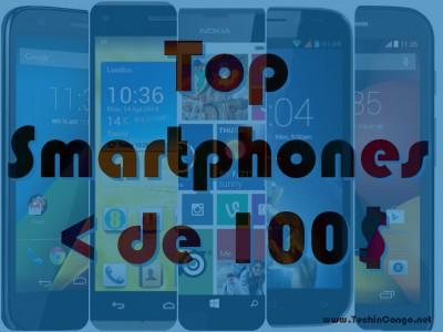 Smartphones sous la barre de 100$