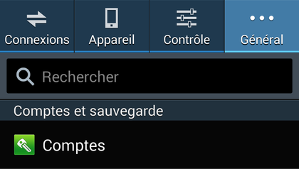 creer et supprimer compte google android