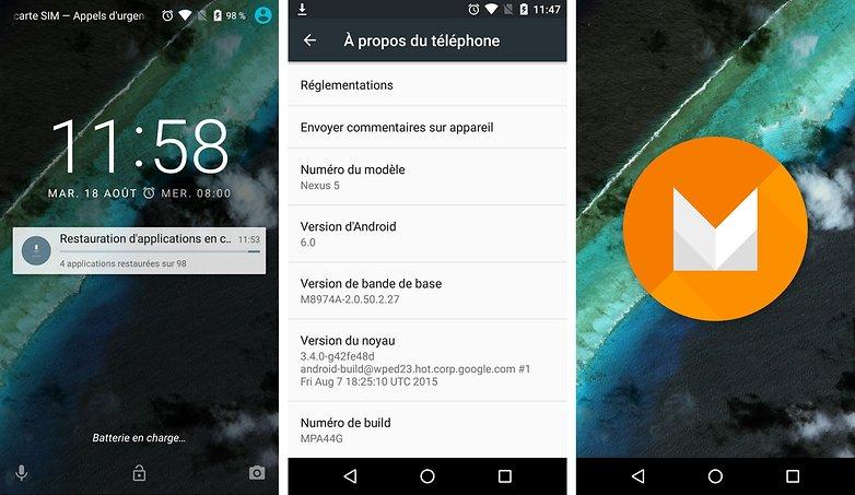 android 6 0 nouveaut s comment l installer sur son smartphone. Black Bedroom Furniture Sets. Home Design Ideas