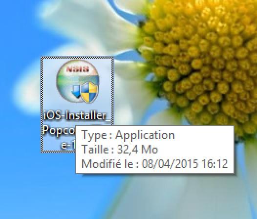 Executer iOS Installer PopCorn TIme