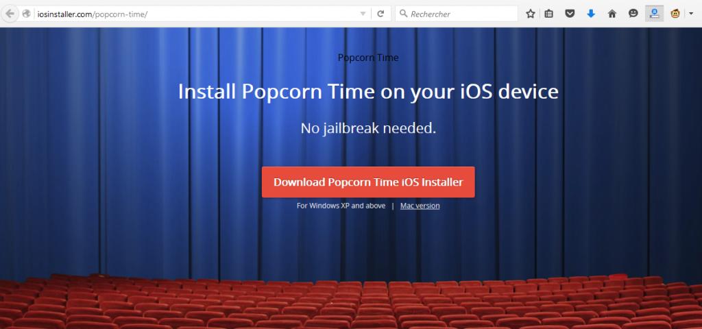 Popcorn Time Installer
