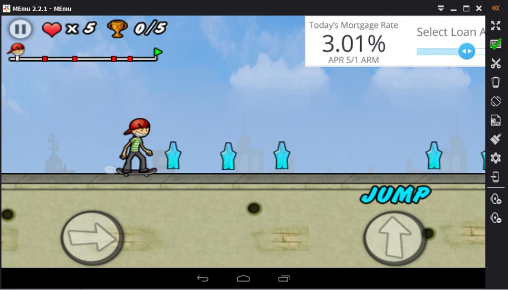 Jouer aux jeux android avec MEmu