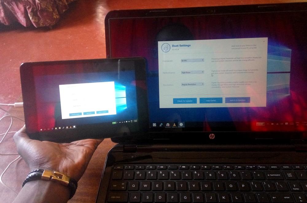 Ipad comme 2 ecran pour Ordinateur Utiliser un iPad comme un Écran externe pour un Ordinateur gratuitement