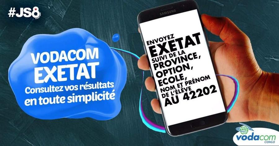 Vodacom Exetat 2016 resultat