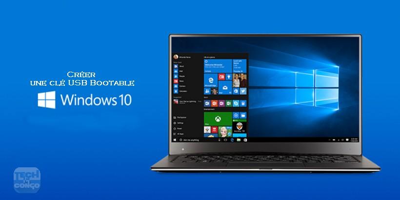 Windows 10 USB Bootable Télécharger Rufus – Outils pour créer une clé USB Bootable pour installer Windows 10
