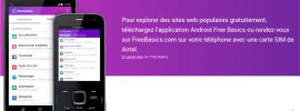 Top 80 sites web gratuits avec Free Basics de Facebook