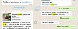 Attention ! Ne Cliquez pas sur le faux lien pour installer les appels vidéo WhatsApp