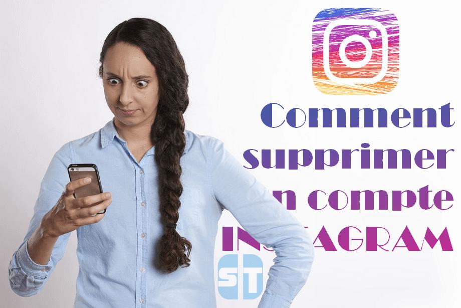Supprimer compte Instagram Comment supprimer un compte Instagram en 2018