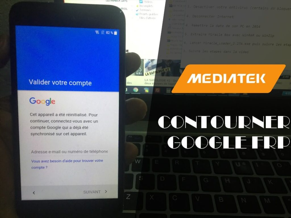comment contourner la protection de compte google frp sur les smartphones mediatek internetpro. Black Bedroom Furniture Sets. Home Design Ideas