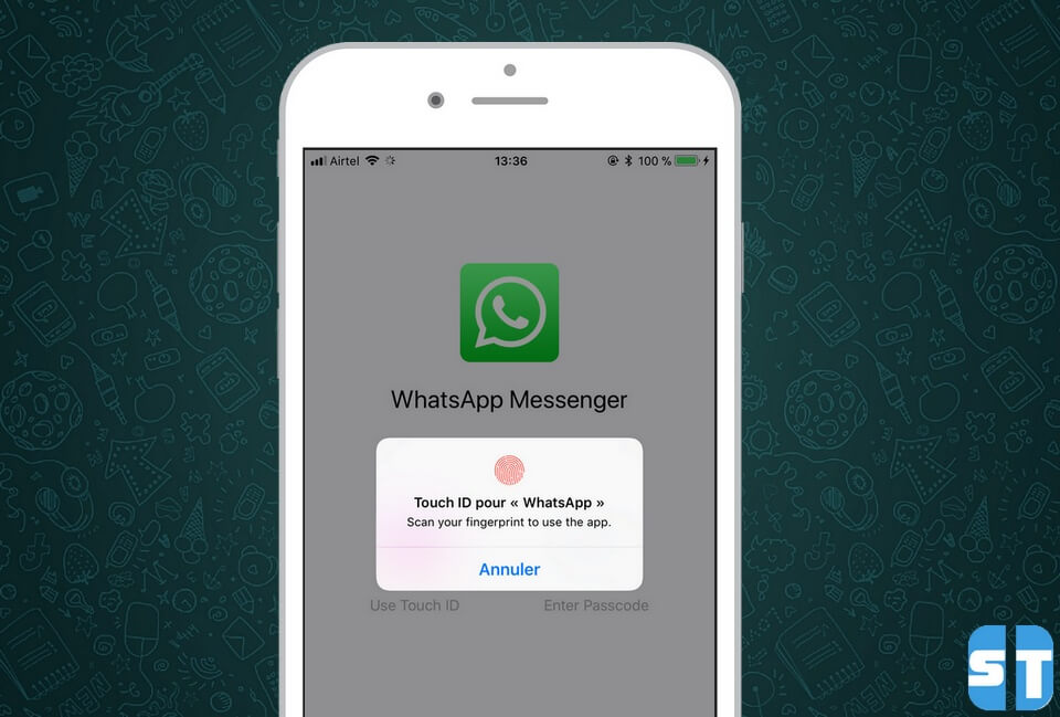 proteger whatsapp touch id Comment protéger WhatsApp par un mot de passe ou Touch ID sur iPhone, iPad