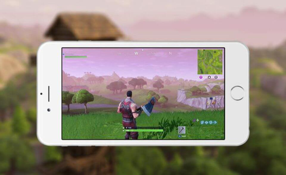 Fortnite Battle Royale mobile iOS Comment jouer à Fortnite Battle Royale sur mobile (iOS)