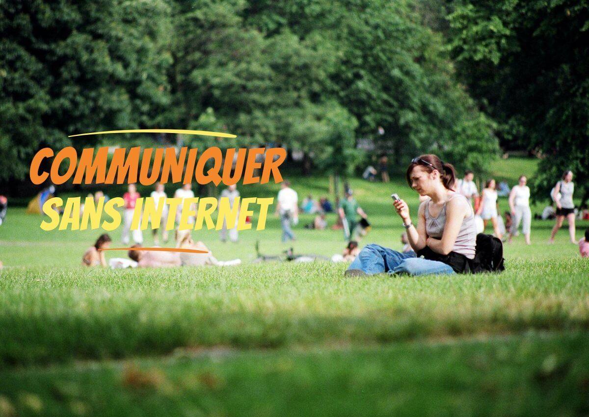 communiquer sans internet Top 5 Applications de messagerie gratuites pour Communiquer sans Internet